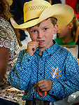 54th annual Junior Livestock Auction during Sunday at the 80th Amador County Fair, Plymouth, Calif.<br /> <br /> Young cowboy Tucker Felkins<br /> .<br /> .<br /> .<br /> .<br /> #AmadorCountyFair, #1SmallCountyFair, #PlymouthCalifornia, #TourAmador, #VisitAmador