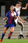 Spanish Women's Football League Iberdrola 2017/18 - Game: 9.<br /> FC Barcelona vs Madrid CFF: 7-0.<br /> Lieke Martens vs Sandy Maendly.
