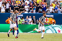 EAST RUTHERFORD, EUA, 22.07.2017 - JUVENTUS-BARCELONA - Giorgio Chiellini da  Juventus (ITA) durante partida contra o  Barcelona (ESP) valido pela Internacional Champions Cup no MetLife Stadium na cidade de East Rutherford nos Estados Unidos neste sábado, 22. (Foto: William Volcov/Brazil Photo Press)