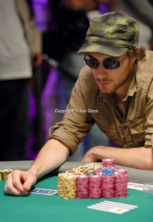 Oliver Rowe is still the chip leader.
