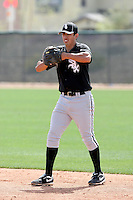 Jose Vargas, Chicago White Sox 2010 minor league spring training..Photo by:  Bill Mitchell/Four Seam Images.