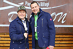 Bode Miller in family at Paganella in Trentino, Italy to present Bomber skis. US Olympic champion Bode Miller competes with journalists at the Paganella, in Trentino, on February 4, 2017.