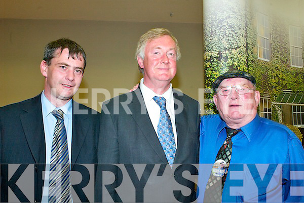 The South Kerry count in The Malton Hotel, Killarney, on Friday Tom Sheahan (FG), John O'Donoghue and Jackie Healy Rae