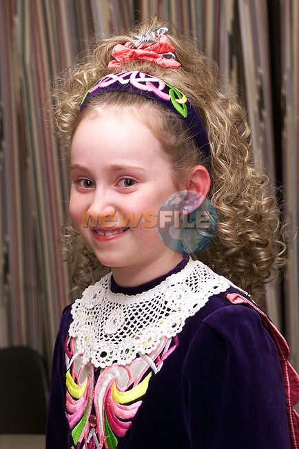 Lisa Bickmore from Dunleer who took part in the kids concert in Dunleer..Picture Paul Mohan Newsfile