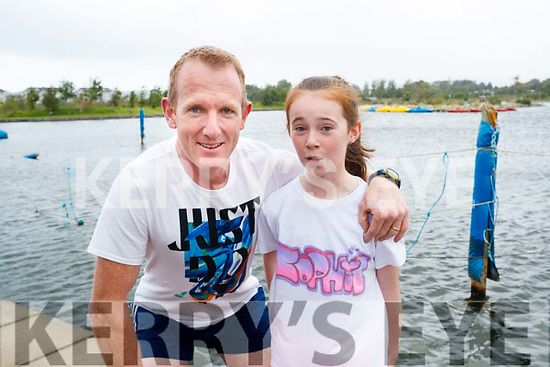 Liam and Sophie Hassett, Tralee, who took part in the Colour Dash 5km Colour Run, in aid of Crumlin Children's Hospital at Tralee Bay Wetlands, on Sunday morning last.