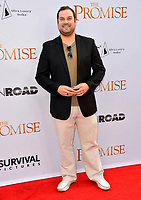 Max Adler at the premiere for &quot;The Promise&quot; at the TCL Chinese Theatre, Hollywood. Los Angeles, USA 12 April  2017<br /> Picture: Paul Smith/Featureflash/SilverHub 0208 004 5359 sales@silverhubmedia.com