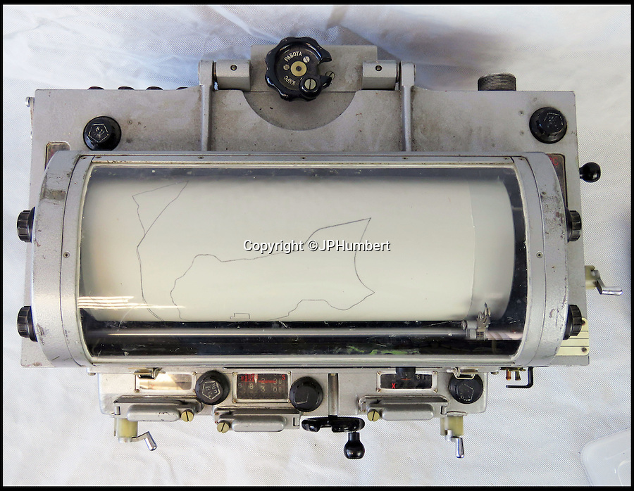 BNPS.co.uk (01202 558833)<br /> Pic: JPHumbert/BNPS<br /> <br /> Cold war sat-nav-ski captured from a Russian tank for sale...<br /> <br /> Auctioneers J P Humberts are selling what was the cutting edge of Cold War sat nav technology from beyond the Iron Curtain.<br /> <br /> Although far from portable, the large and complex device would allow Russian tank crews to navigate themselves around various European cities ...providing they had the correct map rolls on board.<br /> <br /> Expert Francesca Ellis says 'During the Cold War period Russia produced large scale plans of American, British and Irish towns and cities.'<br /> <br /> 'These are of astonishing accuracy and contain an amazing level of detail, especially considering they were compiled under great secrecy.'