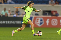 Bridgeview, IL - Wednesday August 16, 2017: Katlyn Johnson during a regular season National Women's Soccer League (NWSL) match between the Chicago Red Stars and the Seattle Reign FC at Toyota Park. The Seattle Reign FC won 2-1.