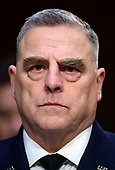 """United States Army General Mark A. Milley, Chief of Staff of the Army testifies before the US Senate Committee on Armed Services during a hearing on """"Chain of Command's Accountability to Provide Safe Military Housing and Other Building Infrastructure to Service members and Their Families"""" on Capitol Hill in Washington, DC on Thursday, March 7, 2019.<br /> Credit: Ron Sachs / CNP"""