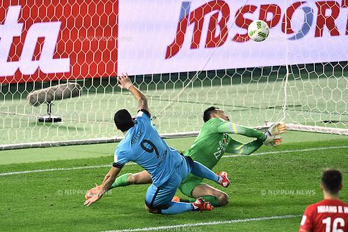 Luis Suarez (Barcelona), <br /> DECEMBER 17, 2015 - Football / Soccer : <br /> FIFA Club World Cup Japan 2015 semi-fina match <br /> between FC Barcelona 3-0 Guangzhou Evergrande <br /> at Yokohama International Stadium, Kanagawa, Japan. <br /> (Photo by AFLO SPORT)