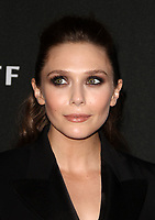 BEVERLY HILLS, CA - NOVEMBER 5: Elizabeth Olsen, at The 21st Annual Hollywood Film Awards at the The Beverly Hilton Hotel in Beverly Hills, California on November 5, 2017. Credit: Faye Sadou/MediaPunch