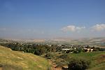 Israel, Lower Galilee. A view of Yavne'el, established in 1901