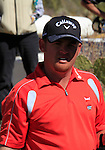 J.B. Holmes (USA) in trouble on the 12th green during Day 3 of the Accenture Match Play Championship from The Ritz-Carlton Golf Club, Dove Mountain, Friday 25th February 2011. (Photo Eoin Clarke/golffile.ie)