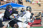 San Diego, CA 05/25/13 - Spencer Beyer (Carlsbad #1) and Colin  Pennington (Westview #21) in action during the 2013 Boys Lacrosse San Diego CIF DIvision 1 Championship game.  Westview defeated Carlsbad 8-3.