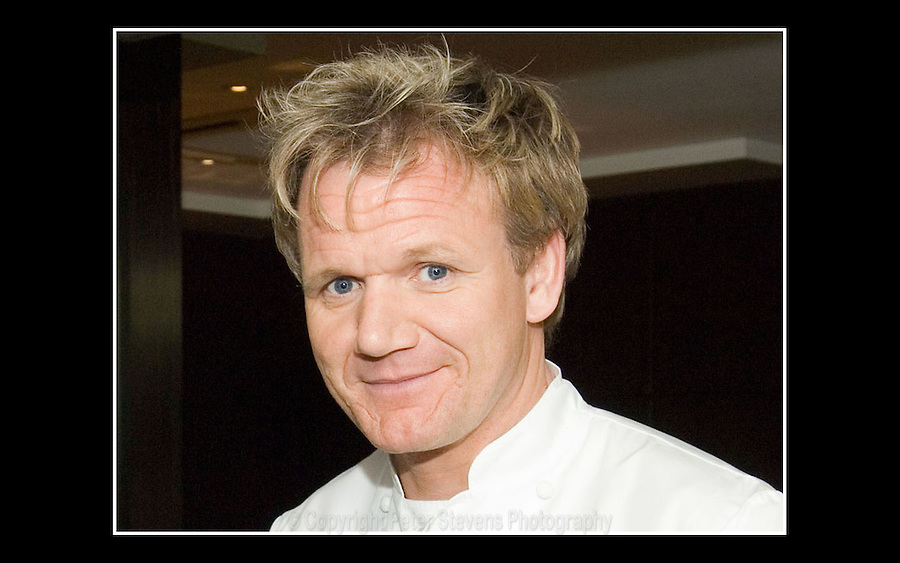 Gordon Ramsay OBE - Maze Restaurant - Grovsenor Square, London W1 - 20th April 2007