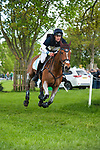 Badminton, Gloucestershire, United Kingdom, 4th May 2019, Wills Oakden riding Cooley Ramiro during the Cross Country Phase of the 2019 Mitsubishi Motors Badminton Horse Trials, Credit:Jonathan Clarke/JPC Images