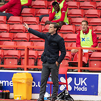 7th July 2020; City Ground, Nottinghamshire, Midlands, England; English Championship Football, Nottingham Forest versus Fulham; Fulham Manager Scott Parker gives players instructions
