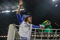 MUNIQUE, ALEMANHA, 19 DE MAIO DE 2012 - LIGA DOS CAMPEOES FINAL - BAYERN  DE MUNIQUE X CHELSEA - David Luiz jogador do Chelsea comemora a conquista da Liga dos Campeoes da Europa apos vencer o Bayern de Munique nos penaltis no Estadio Alliaz Arena em Munique na Alemanha, neste sabado 19. (FOTO: WILLIAM VOLCOV / BRAZIL PHOTO PRESS).