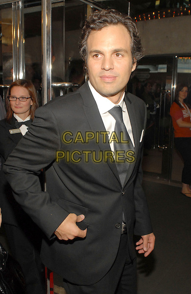 "MARK RUFFALO.""Reservation Road"" Premiere held at Roy Thomson Hall, Toronto, Ontario, Canada,.13 September 2007..half length back suit jacket tie.CAP/ADM/BP.©Brent Perniac/AdMedia/Capital Pictures."