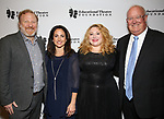 Hunter Bell, Julie Cohen Theobald, Kim Rogers and Matt Conover attend the Fifth Annual Broadway Back To School Gala at Edison Ballroom on September 20,22019 in New York City.