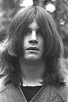 Black Sabbath 1970 Ozzy Osbourne..© Chris Walter....