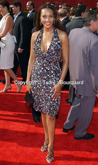 Vivica A. Fox arriving at the ESPY Awards at the Kodak Theatre in Los Angeles. July 16, 2003.