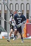 Beverly Hills, CA 04/12/10 - Kyle Robinson (Loyola # 21) in action during the Loyola-Beverly Hills Boys Varsity Lacrosse game at Beverly Hills High School, Loyola defeated Beverly Hills 16-0.