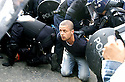 04/07/2005         Copyright Pic : James Stewart.File Name : jspa08 g8 edinburgh mon.POLICE ARREST A PROTESTOR IN PRINCESS STREET ....Payments to :.James Stewart Photo Agency 19 Carronlea Drive, Falkirk. FK2 8DN      Vat Reg No. 607 6932 25.Office     : +44 (0)1324 570906     .Mobile   : +44 (0)7721 416997.Fax         : +44 (0)1324 570906.E-mail  :  jim@jspa.co.uk.If you require further information then contact Jim Stewart on any of the numbers above.........