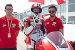 CEV Repsol en Motorland / Aragón <br /> a 08/06/2014 <br /> En la foto :<br /> moto2 races<br /> steven odendaal<br />RM/PHOTOCALL3000