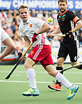 AMSTELVEEN - Ian Sloan (Eng) during the poulematch England v Germany (men) 3-4,Rabo Eurohockey Championships 2017.  WSP COPYRIGHT KOEN SUYK