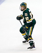 Josh Burrows (Vermont - 22) - The University of Vermont Catamounts defeated the Yale University Bulldogs 4-1 in their NCAA East Regional Semi-Final match on Friday, March 27, 2009, at the Bridgeport Arena at Harbor Yard in Bridgeport, Connecticut.