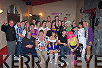 FAMILY /FRIENDS: Family and friends helped Karen Conway of Shanakill to celebrate her 21st Birthday in the Greyhound Bar, Tralee on Saturday night. Karen is seated centre..... ............................................................   Copyright Kerry's Eye 2008