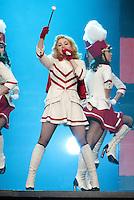 DETROIT, MI - NOVEMBER 8: Madonna performing live at Joe Louis Arena in Detroit, Michigan. November 8, 2012. <br /> Credit:JoeGall/MediaPunch/NortePhoto.com