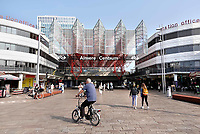 Nederland - Almere - Augustus 2018.  Het NS station in Almere Centrum.    Foto Berlinda van Dam / Hollandse Hoogte