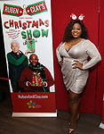"""La'nette Wallace attend the Opening Night After Party for """"Ruben & Clay's First Annual Christmas Show"""" on December 11, 2018 at The Copacabana Times Square in New York City."""