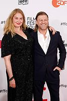 Sean Bean mit Gattin Ashley Moore bei der Verleihung der Film Festival Cologne Awards 2017 auf dem 27. Film Festival Cologne im Börsensaal der IHK. Köln, 06.10.2017