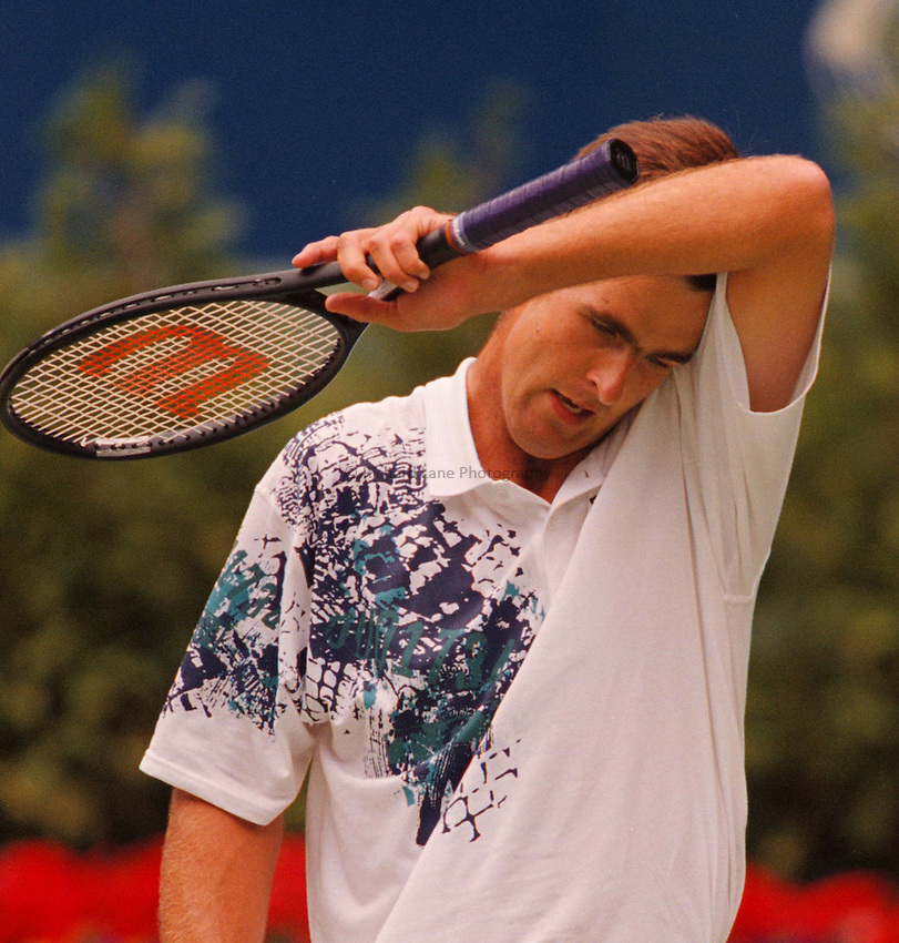 Photo. Steve Holland.Australian Open at Melbourne. 1994..Todd Martin
