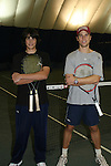 ATWT - Mick Hazen & GL - Ryan Brown participated at the Rock N'Pink Tennis Challenge on Nov 23, 2008 to BENEFIT Tennis Against Breast Cancer (TABC) at the Roosevelt Island Racquet Club, Roosevelt Island, New York. (Photo by Sue Coflin/Max Photos)