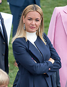 Vanessa Trump, wife of Donald Trump Jr., looks on as United States President Donald J. Trump and first lady Melania Trump host the annual White House Easter Egg Roll on the South Lawn of the White House in Monday, April 2, 2018.<br /> Credit: Ron Sachs / CNP