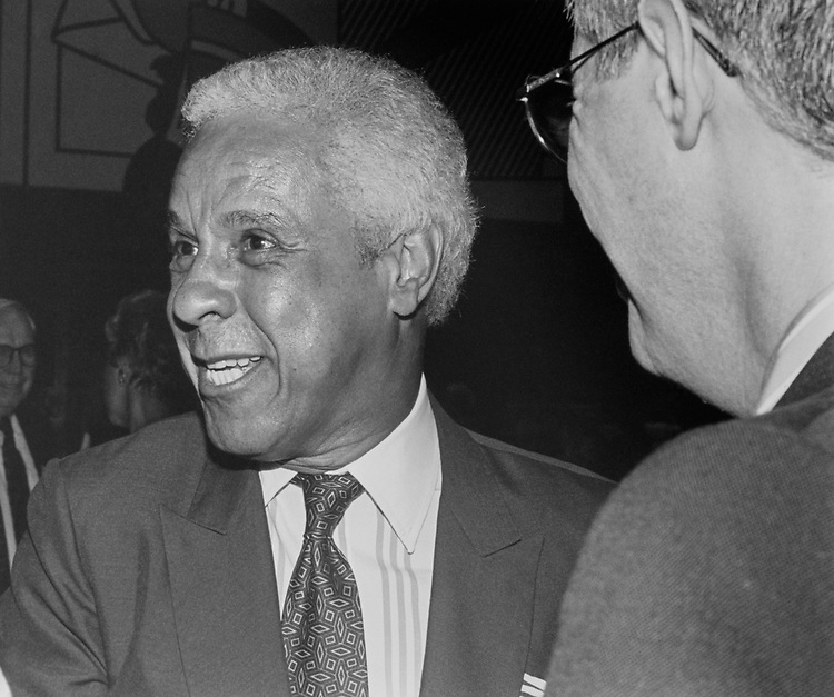 Governor Douglas Wilder, D-Va., in 1992. (Photo by Laura Patterson/ CQ Roll Call)