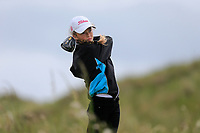 Emma Fleming (Elm Park) during the 2nd round of the Irish Women's Open Stroke Play Championship, Enniscrone Golf Club, Enniscrone, Co. Sligo. Ireland. 16/06/2018.<br /> Picture: Golffile | Fran Caffrey<br /> <br /> <br /> All photo usage must carry mandatory  copyright credit (© Golffile | Fran Caffrey)