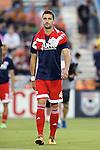 15 June 2016: New England's Steve Neumann. The Carolina RailHawks hosted the New England Revolution at WakeMed Stadium in Cary, North Carolina in a 2016 Lamar Hunt U.S. Open Cup fourth round game.