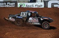 Apr 16, 2011; Surprise, AZ USA; LOORRS driver Steve Barlow (83) during round 3 at Speedworld Off Road Park. Mandatory Credit: Mark J. Rebilas-.