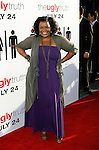 "HOLLYWOOD, CA. - July 16: Yvette Nicole Brown arrives at the Los Angeles premiere of ""The Ugly Truth"" held at the Pacific's Cinerama Dome on July 16, 2009 in Hollywood, California."