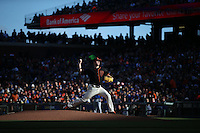 SAN FRANCISCO, CA - MAY 21:  Matt Cain #18 of the San Francisco Giants pitches against the Chicago Cubs during the game at AT&T Park on Saturday, May 21, 2016 in San Francisco, California. Photo by Brad Mangin* Matt Cain