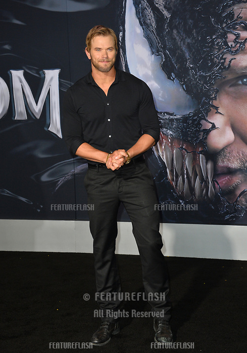 """LOS ANGELES, CA. October 01, 2018: Kellan Lutz at the world premiere for """"Venom"""" at the Regency Village Theatre.<br /> Picture: Paul Smith/Featureflash"""