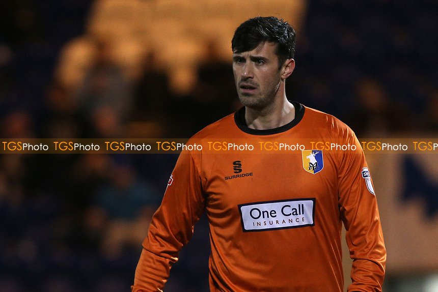 Scott Shearer of Mansfield Town during Colchester United vs Mansfield Town, Sky Bet EFL League 2 Football at the Weston Homes Community Stadium on 14th March 2017