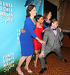 Sigourney Weaver, Shalita Grant, Billy Magnussen, and Kristine Nielsen attending the Broadway Opening Night Performance after party for  'Vanya and Sonia and Masha and Spike' at the Gotham Hall in New York City on 3/14/2013.