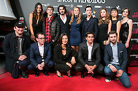 Crew Of the movie attend the Premiere of the movie &quot;El club de los incomprendidos&quot; at callao Cinema in Madrid, Spain. December 1, 2014. (ALTERPHOTOS/Carlos Dafonte) /NortePhoto<br />