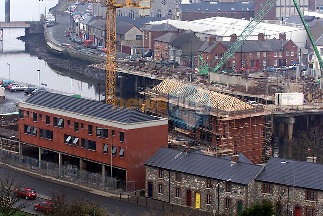 View from Millmount of new buildings in Drogheda..pic: Newsfile